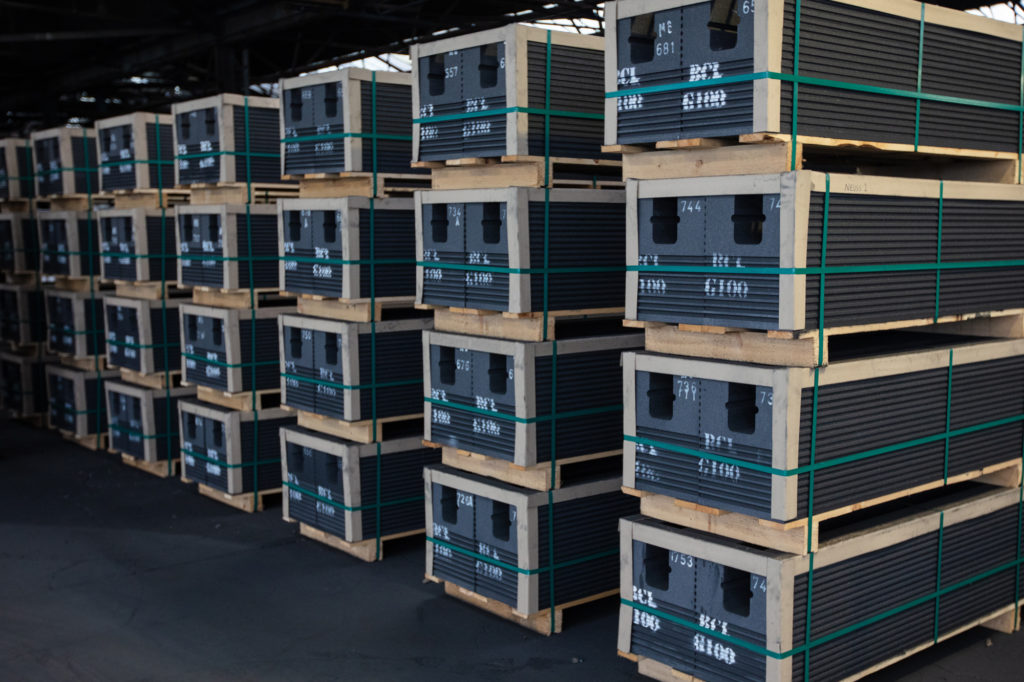Cathode Blocks